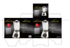 榨汁机包装设计图片
