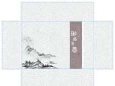 裂纹水墨包装图片
