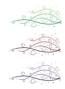 花纹线条背景图片