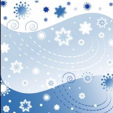 雪之背景图片