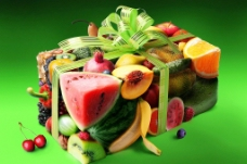 另类水果礼盒图片