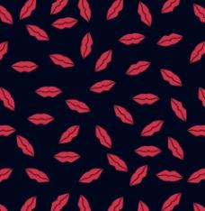 数码印花红口唇图片