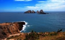 海景 蓝天图片