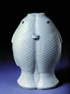 鱼形瓷器图片