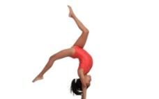 体操女孩图片