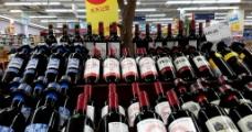 超市进口红酒(葡萄酒)图片