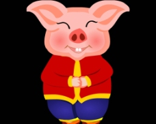 小猪背景视频