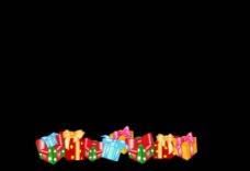 礼物背景视频