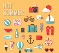夏季图标图片