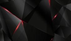 黑色几何科技背景图片素材