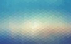 六边形蜂巢背景图片