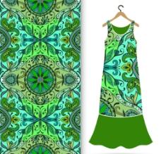 古典花纹 服装图案图片