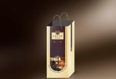 红酒包装袋效果图图片