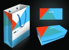 礼盒效果图 手提袋效果图图片
