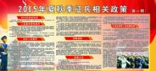 征兵政策展板图片