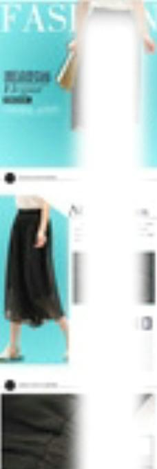七分裤详情页图片