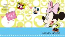 米老鼠卡通背景墙图片