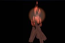 火苗背景视频