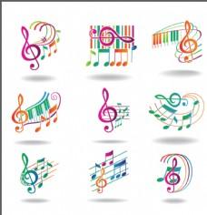 音乐符号五线谱图片