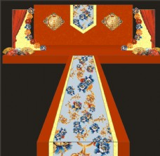 现代中式婚礼图片