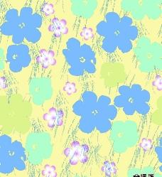 色块花卉图片