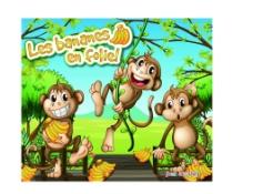 猴子香蕉图片