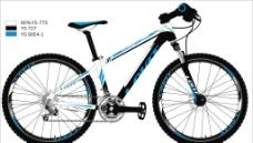 自行车矢量图图片