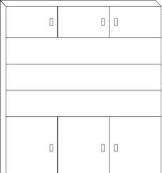 简易柜子 线条图 轮廓图图片