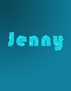JENNY字体设计图片