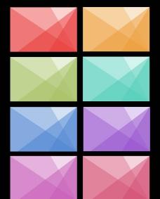 菱形名片背景图片