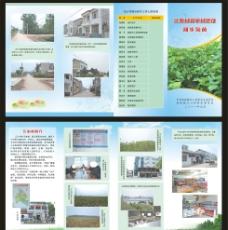 新农村建设折页图片