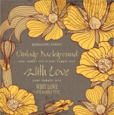 欧式花卉卡片图片