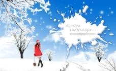 美景冬天图片