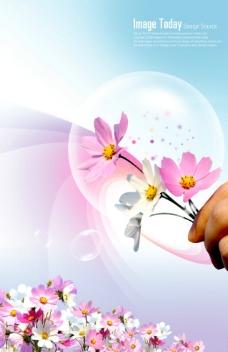 浪漫 小碎花 背景  温馨背景图片