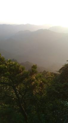 清晨的高山图片