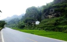 茶亭村公路图片