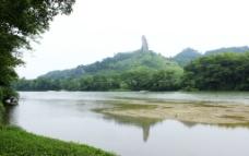 崀山夷夫水将军石景观图片
