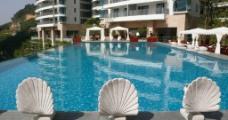 小区 游泳池图片