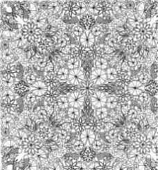 黑白花朵复杂剪纸底纹?#35745;?/></a></div><div class=