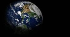 地球动态背景