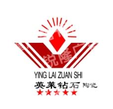 英莱钻石陶瓷标志图片