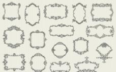 欧式装饰花纹图片
