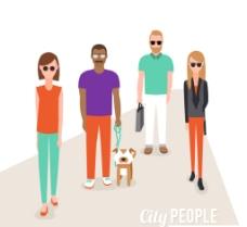 都市人物图片