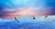 远航海洋风光高清图片