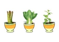 蔬菜矢量素材图片