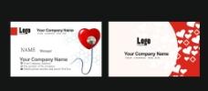 医学卡片设计图片