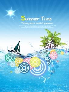 夏季时光海报图片