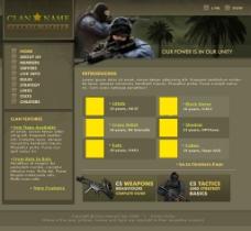cs国外网页设计模板图片
