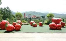 PAI县草莓园图片