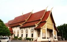 清迈寺庙图片